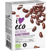 Kidneybönor Ekologisk 380g ICA I love eco