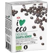 Svarta bönor Ekologisk 380g ICA I love eco