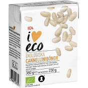 Cannellinibönor Ekologisk 380g ICA I love eco