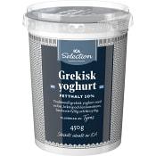 Grekisk Yoghurt 10% 450g ICA Selection