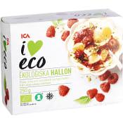 Hallon Fryst Ekologisk 250g ICA I love eco