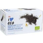 Madame grey Svart te med bergamott & apelsin Ekologisk 20-p ICA I love eco