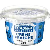 Crème fraiche Laktosfri 34% 2dl KRAV ICA I love eco