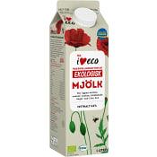 Mjölk 3,0% 1l KRAV ICA I love eco