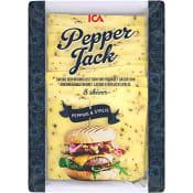 Ost Pepper Jack Skivad 20g 8-p ICA