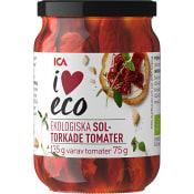 Soltorkade tomater Ekologisk 135g ICA I love eco