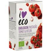 Passås tomat  & vitlök Ekologisk 390g ICA