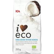 Kokos riven Ekologisk 200g ICA I Love Eco