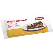 Chok.milk caramel 100g ICA Basic