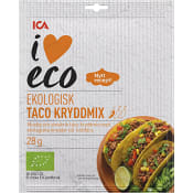 Taco Kryddmix Ekologisk 28g ICA I love eco