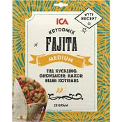 Kryddmix Fajita medium 28g ICA
