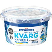 Lättkvarg Naturell Laktosfri 0,2% 500g ICA