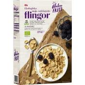 Majs- & boveteflingor Glutenfria Ekologisk 375g ICA