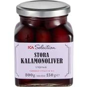 Kalamonoliv stora 300 g ICA Selection