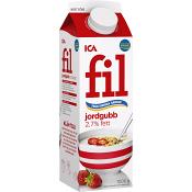 Fil Jordgubb 2,7% 1kg ICA