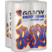 Energidryck Traditionell 25cl 4-p Gojoy