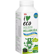 Mellanmjölk 3cl KRAV ICA I love eco