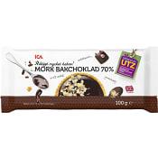 Mörk bakchoklad 70% 100g ICA