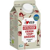 Vispgrädde 40% 5dl KRAV ICA I love eco