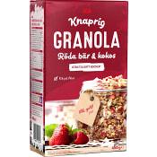 Granola Röda bär & kokos 450g ICA