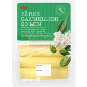 Pasta Cannelloni Färsk Ricotta & spenat 360g ICA