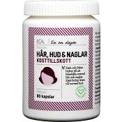 Kosttillskott Hår Hud och Naglar 60-p ICA Hjärtat