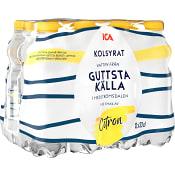 Vatten Kolsyrad Citron 33cl 12-p ICA