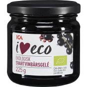Gelé Svartvinbär Ekologisk 225g ICA I love eco