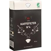 Kaffefilter 1x4 Vita 80-p ICA