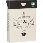 Kaffefilter 102 vita 80-p ICA