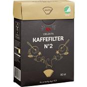 Kaffefilter oblekta 102 80-p ICA