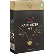 Kaffefilter 1x4 oblekta 80-p ICA