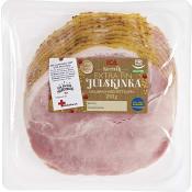 Julskinka med fettkappa Skivad Glutenfri 250g ICA
