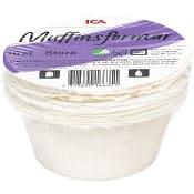 Muffinsformar Amerikanska Stora 16-p Miljömärkt ICA