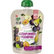 Katrinplommon&Päronpuré Ekologisk 4mån 90g ICA