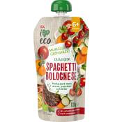 Barnmat Spaghetti bolognese 6m Ekologisk 120g ICA I love eco