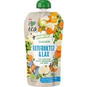 Barnmat Rotfrukter & lax 6m 120g ICA I love eco