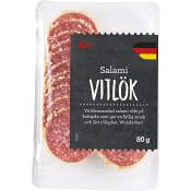 Salami Vitlök 80g ICA