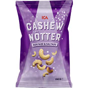 Cashewnötter salta 250g ICA