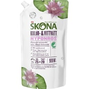 Tvättmedel Nyponros Flytande 900ml Miljömärkt ICA Skona
