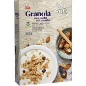 Granola dadlar o mandel Glutenfri 325g ICA