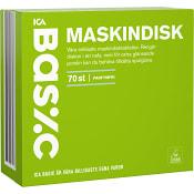 Maskindisktabletter 70-p Miljömärkt ICA basic