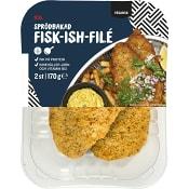 Pannfärdigt Fisk-ish-filé 160g ICA