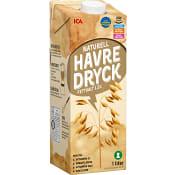 Havredryck Naturell 1l ICA