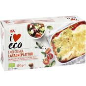 Lasagneplattor Ekologisk 500g ICA I love eco