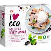 Svarta Vinbär Ekologiska 250g ICA I love eco
