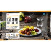 Kycklingköttbullar Fryst 600g ICA