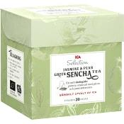 Grönt te Sencha Jasmine & Pear 20-p ICA Selection