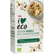 Granola Äpple kanel Ekologisk 450g ICA I Love ECO