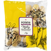 Mjölig tvättad potatis 2kg Klass 1 ICA
